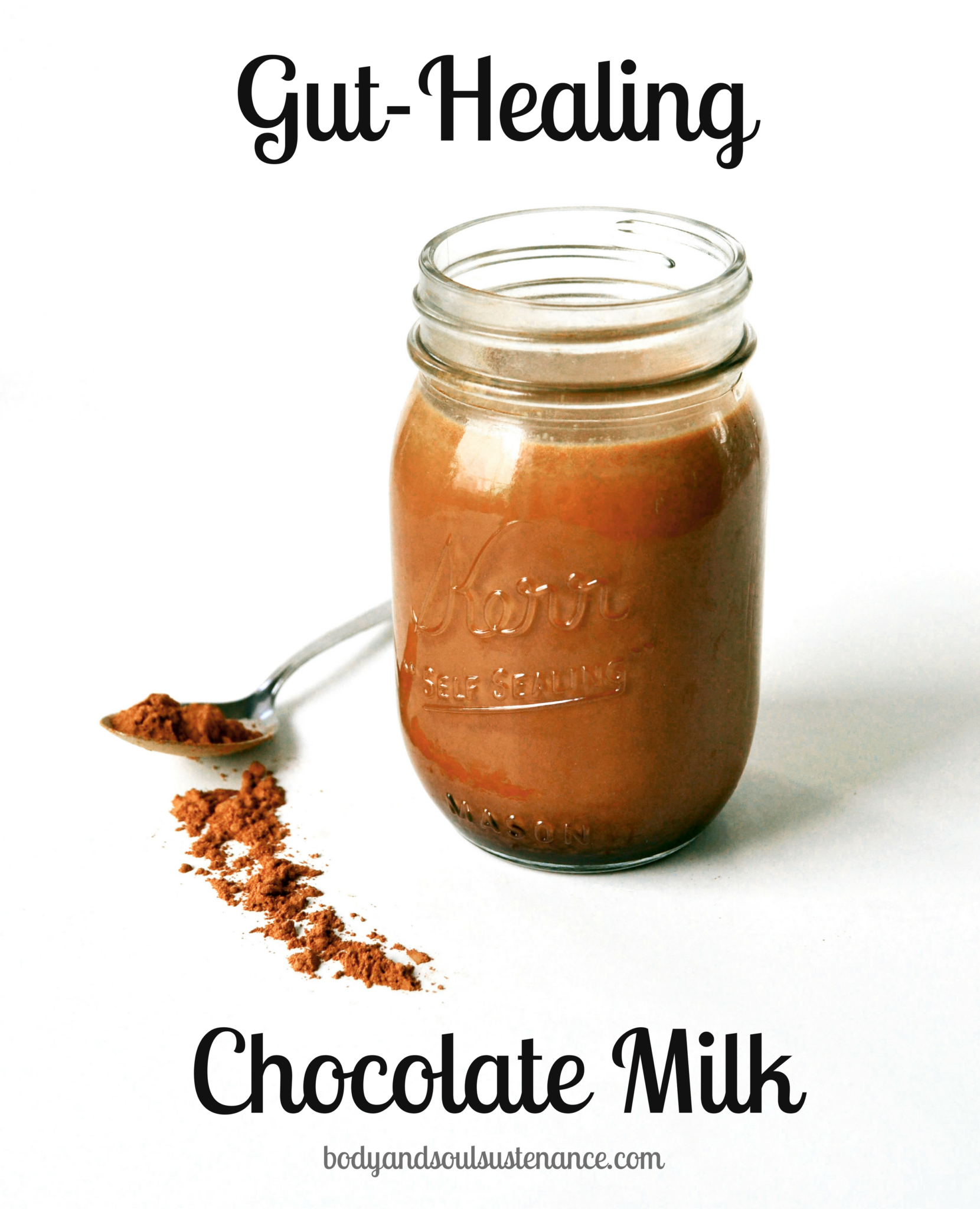 Gut-Healing Chocolate Milk | Body & Soul Sustenance